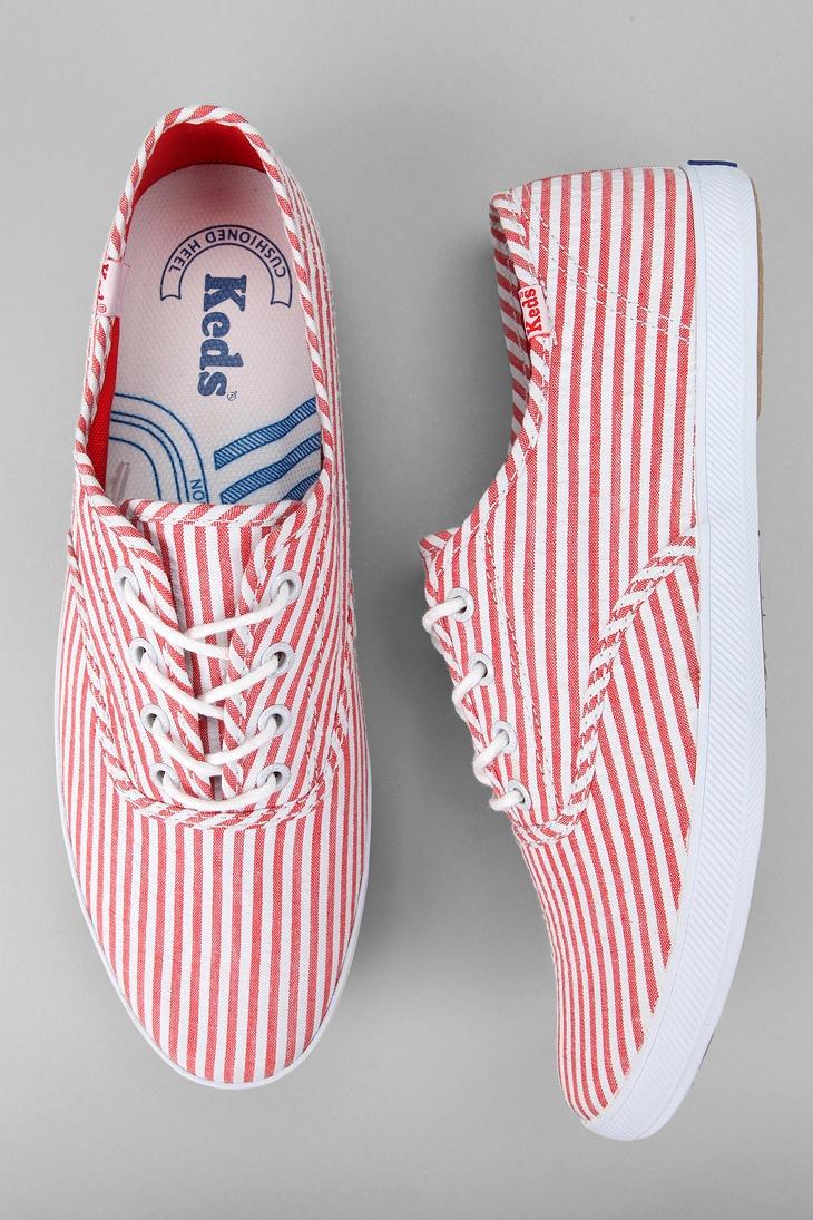 Keds Seersucker Convertible Champion Sneaker