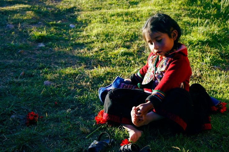 The little Woman by Cusco