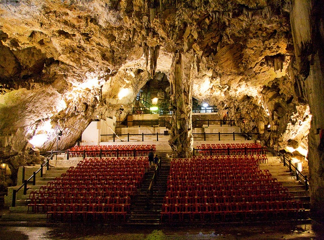 Gibraltar Cave Theatre- so cool!