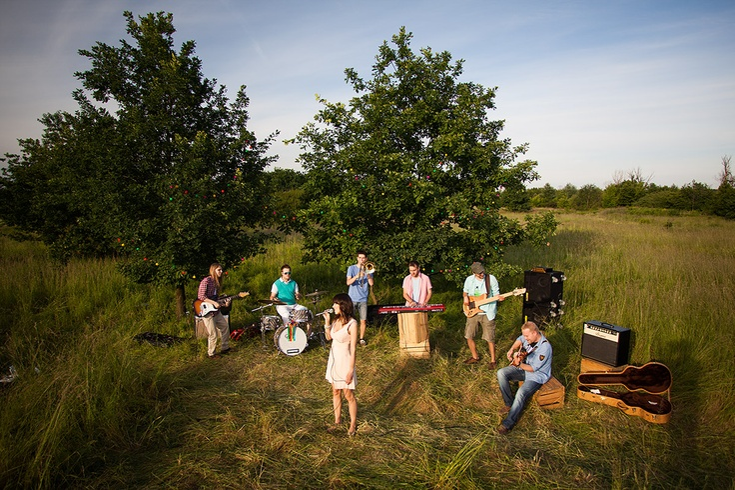 www.gridimages.pl #concert #field #guitar #trees #video #clip #music
