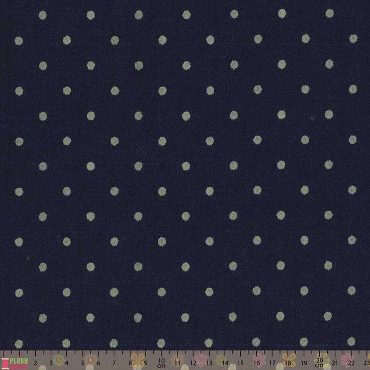 Denim Spot Stretch Cotton 3m x 144cm for S1652