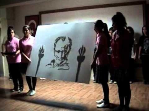 08 Taşova 10 Kasım 2012 Atatürk'ü Anma Programı SON