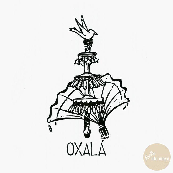 """OXALA - DA SÉRIE: """"AS ARMAS DOS ORIXÁS"""" - See https://s-media-cache-ak0.pinimg.com/originals/a9/e8/2e/a9e82e554081db2a02286a356f447932.jpg"""