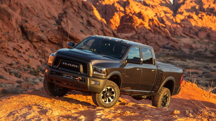 Check out the 2017 Ram Power Wagon. #ram #dodge #4x4 #trucks