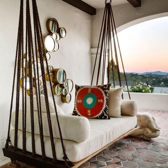 { sambalanço } #swing  #CasaTortuga by @ErinMartinDesign  Via @housebeautiful