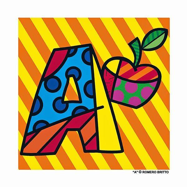 LOCO DE TECNOLOGÍAS: Romero Brito: Alfabeto Ilustrado. Actividades. Biografía de Romero Brito