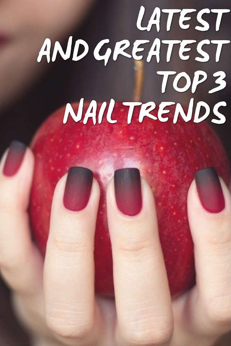 Best 25+ New Nail Trends Ideas On Pinterest