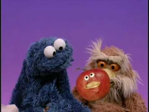 "Sesame Street - ""A Cookie is a Sometime Food"".  Cookie Monster starts sounding like Veggie Monster (2005)."