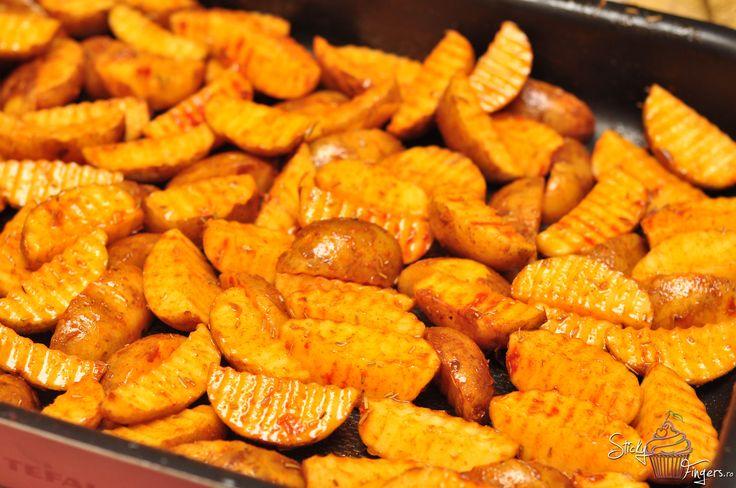 Cartofi copti.   StickyFingers.ro