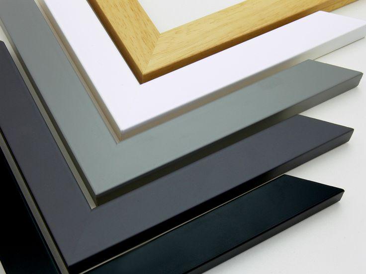 Encadrement bois moulure n 20 disponible avec le cadre nu - Verre anti reflet ...