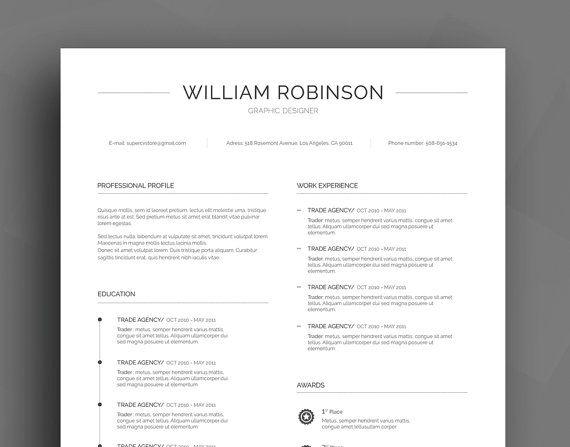 17 beste ideer om Best Cv Template på Pinterest Cv design - best resume templates word