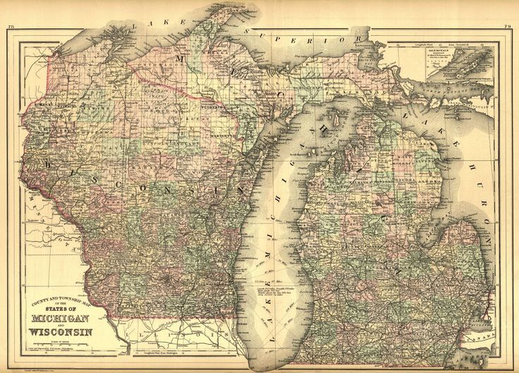 Best Wisconsin Images On Pinterest Wisconsin Maps And Michigan - Detailed map of wisconsin