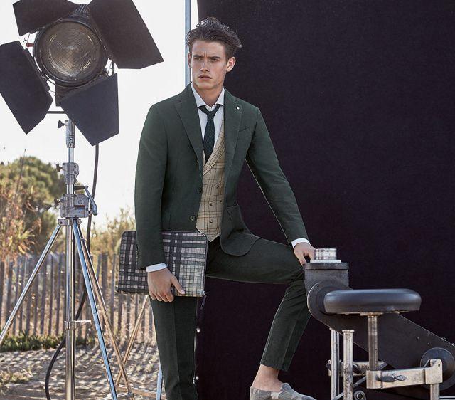 Rayas y Cuadros: Blog de Moda Masculina: Un aplauso por la elegante y colorida primavera de L.B.M. 1911