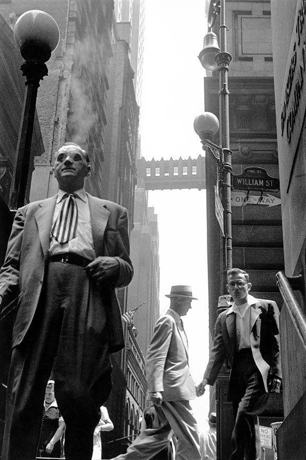 Wall Street, New York City. 1956. © Leonard Freed / Magnum Photos