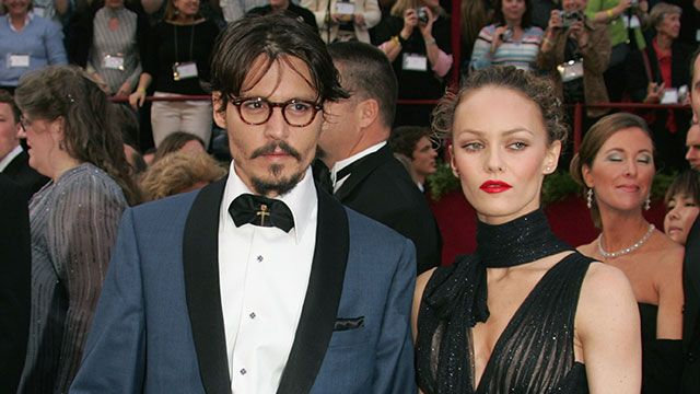 Johnny Depp and Vanessa Paradis split after 14 years together; publicist calls separation amicable. (via Entertainment Tonight; photo: Vince Bucci/ Getty Images)