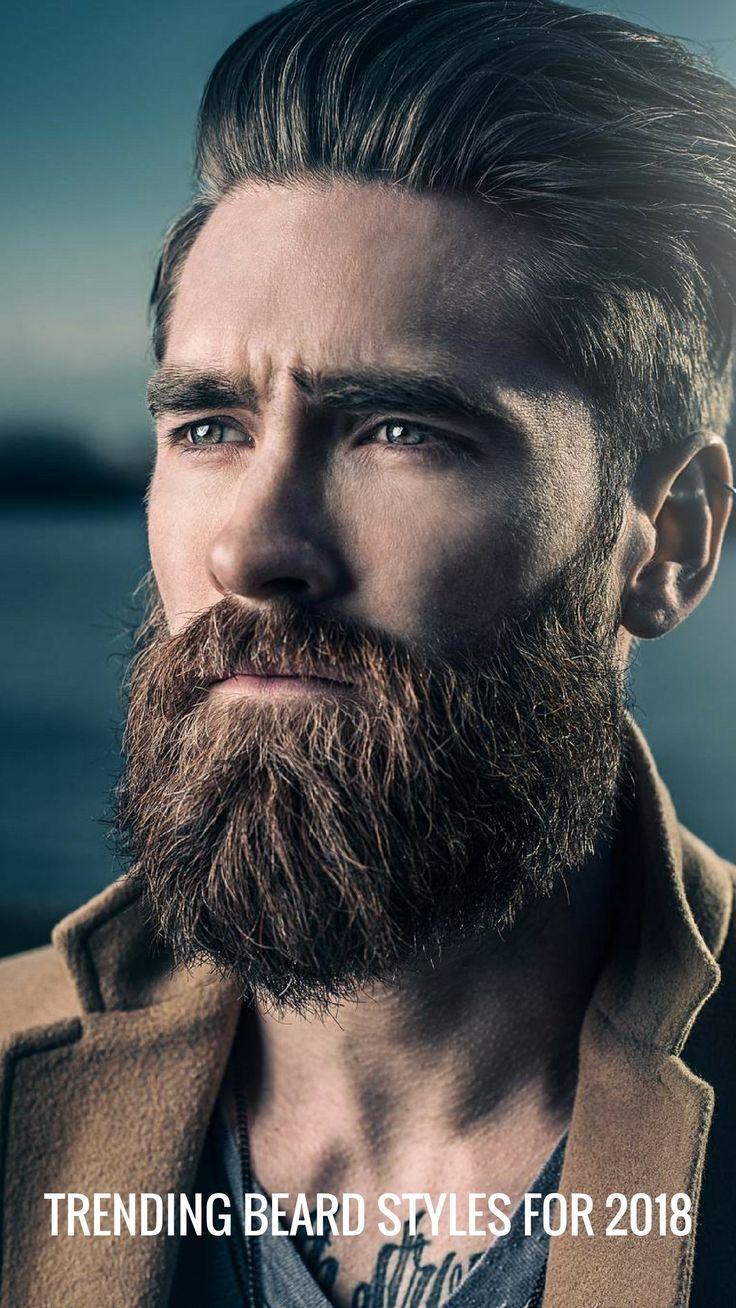 Trending Beard Styles For 2018 #beards #beard
