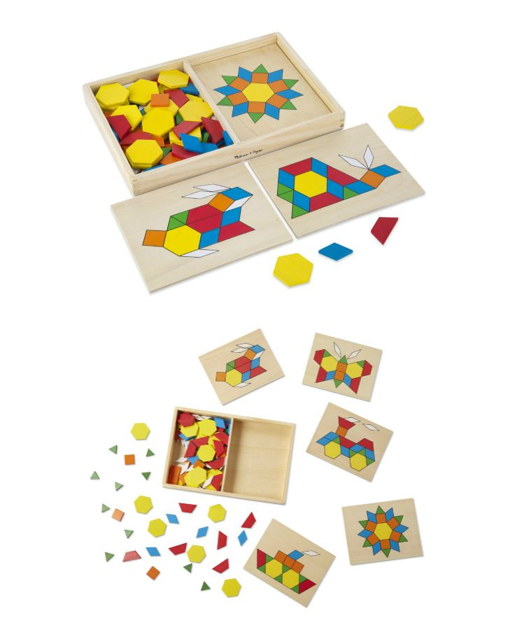We love these cute puzzles! Such a fun activity for your littles! These puzzles are great for color recognition, hand-eye coordination, and problem solving! {aff.}