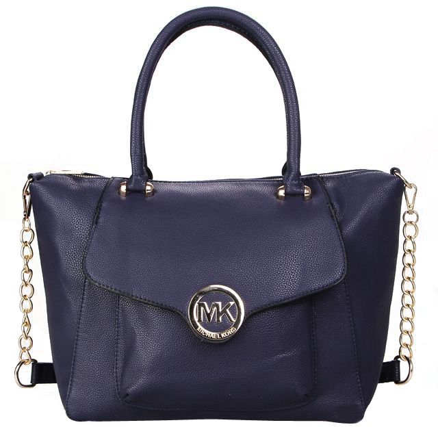 #MichaelKors We Guarantee You Own Great Attraction, If You Get Our Cheap And Fashionable Michael Kors Fulton Leather Large Navy Satchels! More Surprises Are Waiting You Here!