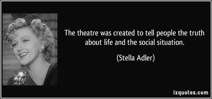 Stella Adler's quotes, famous and not much - QuotationOf . COM