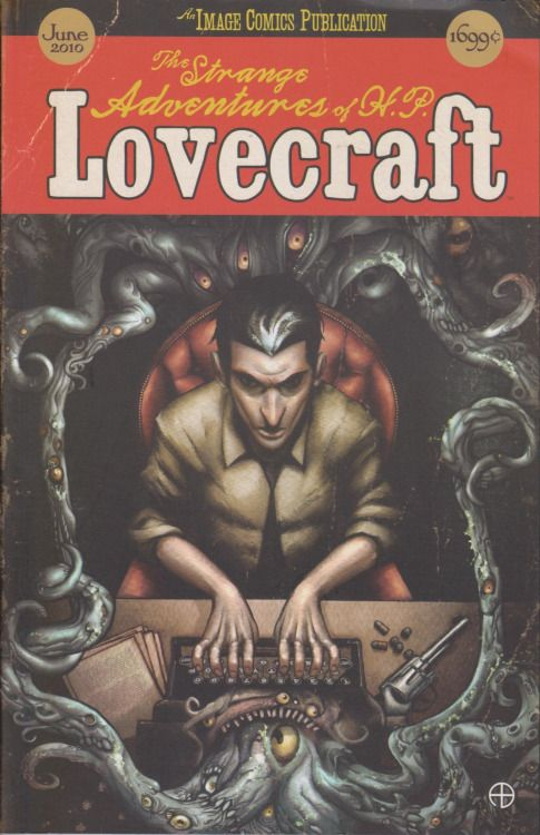 The Strange Adventures Of HP Lovecraft Mac Carter Graphic Novel