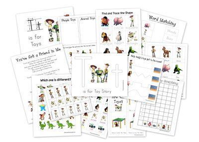 Toy Story Printables: Story Preschool, Preschool Printables, Toys, Toy ...