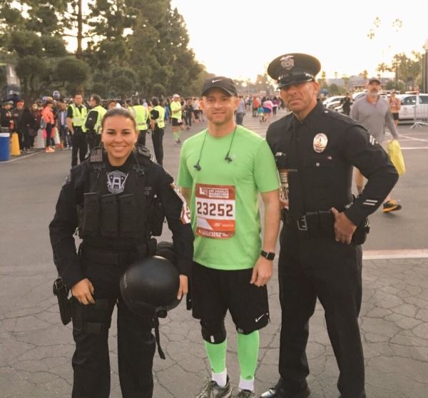 LAPD Officer Kristina Tudor ran & finished the LA Marathon in full tactical uniform for charity. #Follow Me #CooliPhone6Case on Twitter Facebook Google Instagram LinkedIn Blogger Youtube