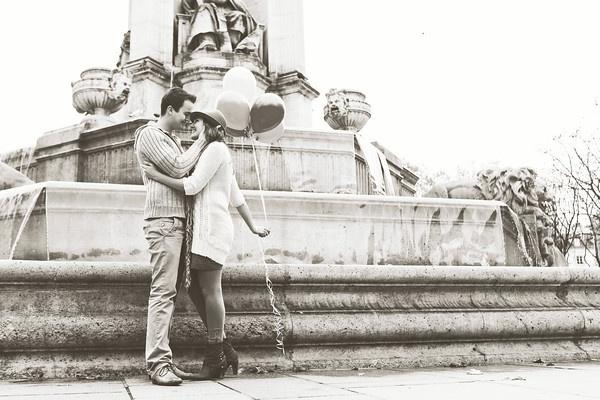 More love shoots in Paris! Meer loveshoots in Parijs!  Photo's by FOTOZEE