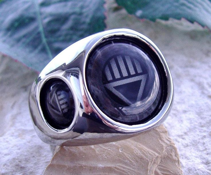 BLACK LANTERN RING STEEL RED GREEN SILVER DC CORPS COMICS GREEN N45 in Jewelry & Watches, Fashion Jewelry, Rings | eBay