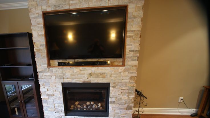 Pinterest Gas Fireplaces With Natural Stone