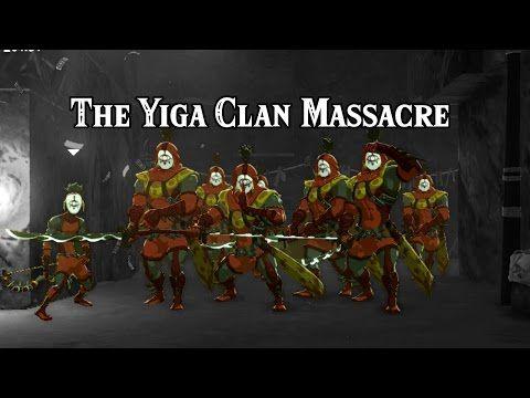 [Zelda Breath of the Wild] The Yiga Clan Massacre (Banana farming) - YouTube