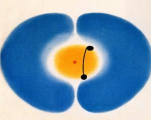 Blue Mandala - Edwin John Victor Pasmore was a British artist and architect. He pioneered the development of abstract art in Britain in the 1940s and 1950s.
