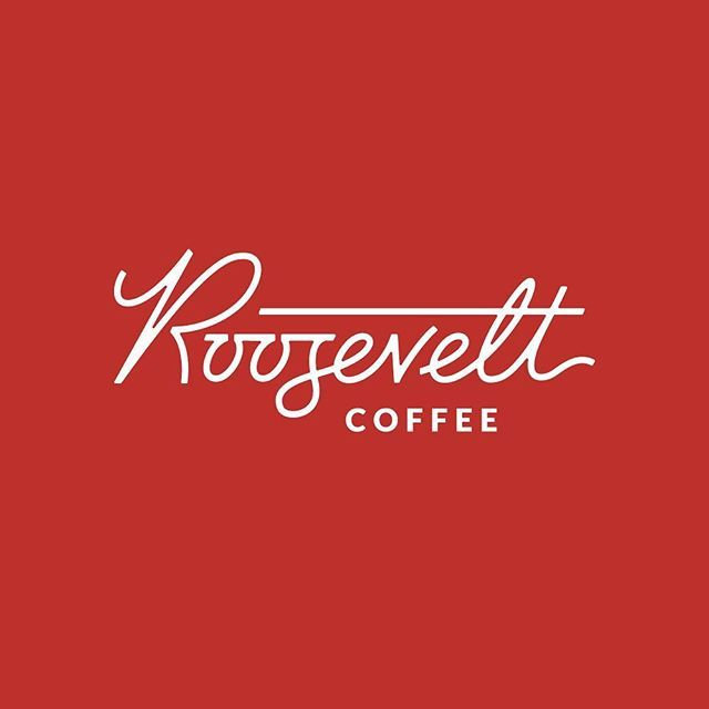 WEBSTA @amyhoodlum Custom wordmark for @rooseveltcoffee, coming soon to Irvine from some fine folks!