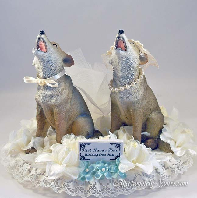 Wedding Anniversary Cake Toppers