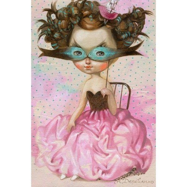 Postcard Recognize me by Nataliya Derevyanko