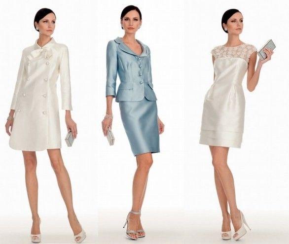 Ecco a voi i bellissimi abiti da cerimonia di Luisa Spagnoli, per la mamma della sposa ma non solo. La stilista infatti crea abiti anche adattissimi ad una ragazza più giovane.