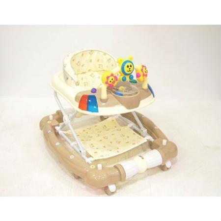 Детские ходунки 802-3, бежевые, RiverToys  — 4300р. ------------ Детские ходунки 802-3Отличное качество пластика,  силиконовые колёса, мягкое сиденье, съемная  игровая панель и регулируемая высота от  пола.