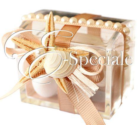 Pick con Stella Marina e Conchiglia - Prodotti Tema Mare - Shop Per Tema - accessori e gadget per matrimoni e feste - E-speciale