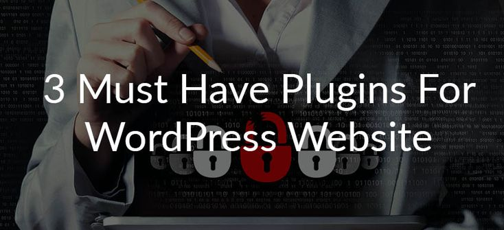 3 Must Have Plugins for WordPress Website | iThemes | UpdraftPlus | W3 Total Cache