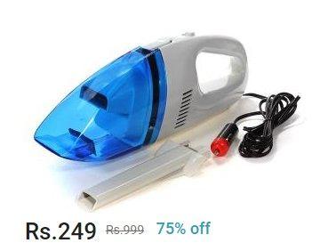 Shopclues: Car Vacuum Cleaner at 75% OFF
