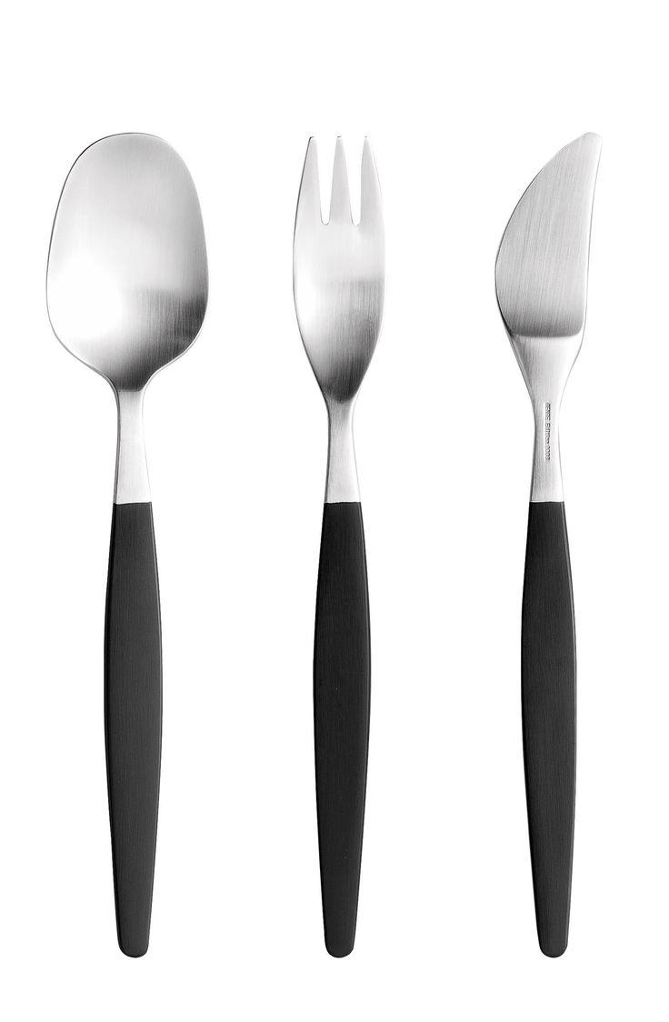 Focus de Luxe cutlery designed by Folke Arström for Gense. Swedish design classic.