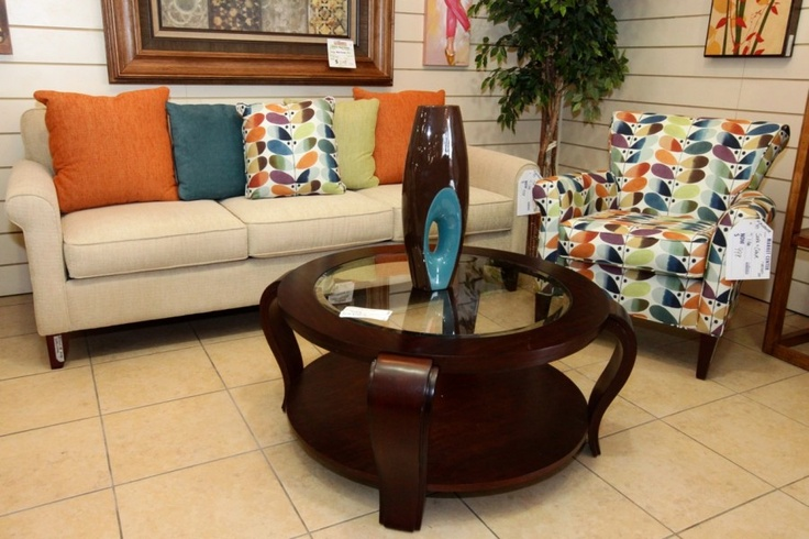 Klaussner Sofa & Chair Rainbow & Cheyenne Colleens
