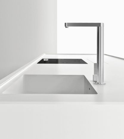 pictures of kitchen faucets and sinks norbert wangen for boffi k20 kitchen in corian k d 9109