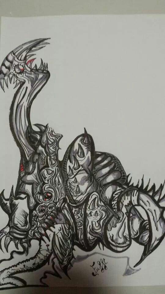 alien sketch wip ♡