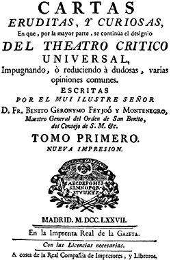 Descarga tu libro ePub: Cartas eruditas, y curiosas I - Benito Jeronimo Feijoo http://www.any.gs/AK6kA