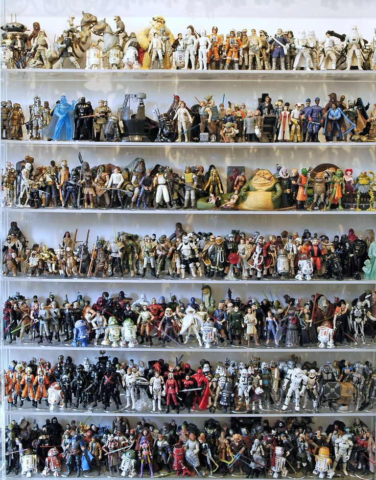 Star Wars The Ultimate Action Figure Collection -- 1950 Loose Figures