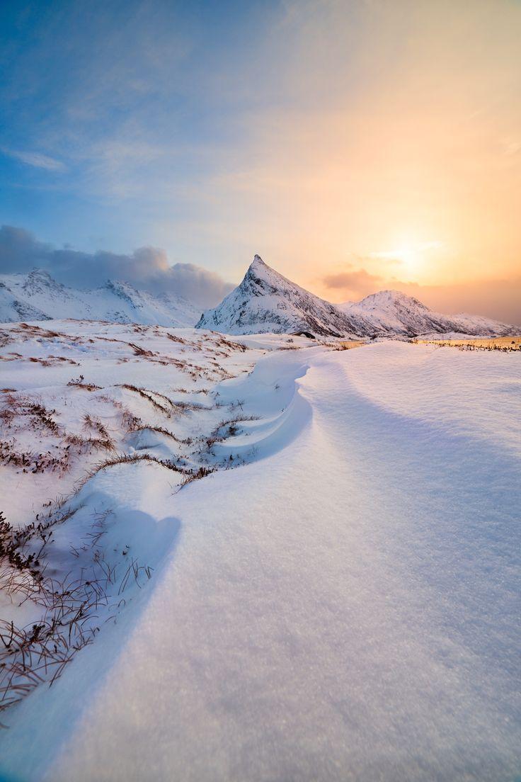 winter scene #winter scene #snow sun sunset white landscape nature beautiful mountains