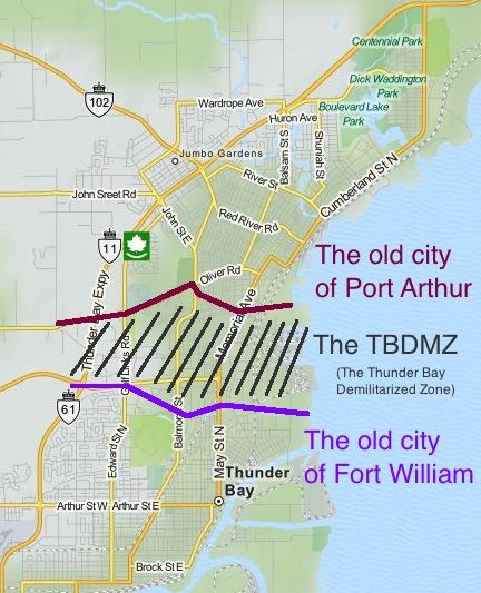 Places Of Worship Thunder Bay: Thunder Bay Was Formally Two Distinct Cities; Fort William