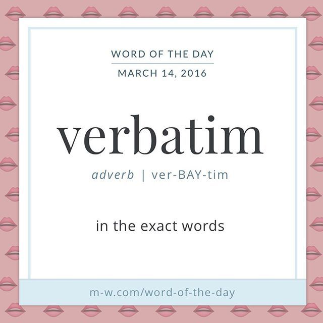 76 best latin images on pinterest english language languages and like verb verbatim is derived from verbum the stopboris Image collections