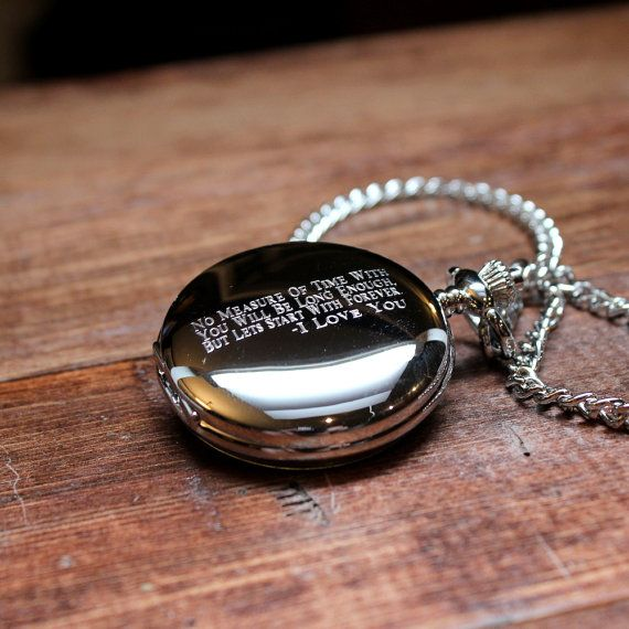 Wedding Gift For Groom Watch : Pocket Watch on Pinterest Watch gifts for grooms, Wedding gifts ...
