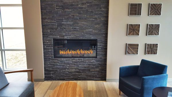 Hospitality Gas Fireplace Madison Health Expansion Gas